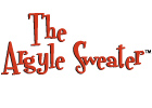 Licensing Logo Argyle Sweater