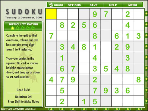 graphic regarding Mega Sudoku Printable named Andrews McMeel Syndication - House