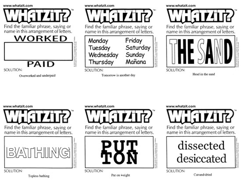Whatzit? by Paul Sellers