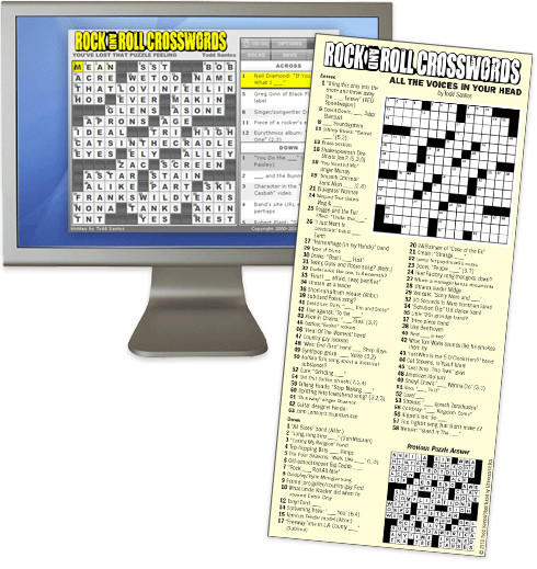 Rockandrollcrosswords